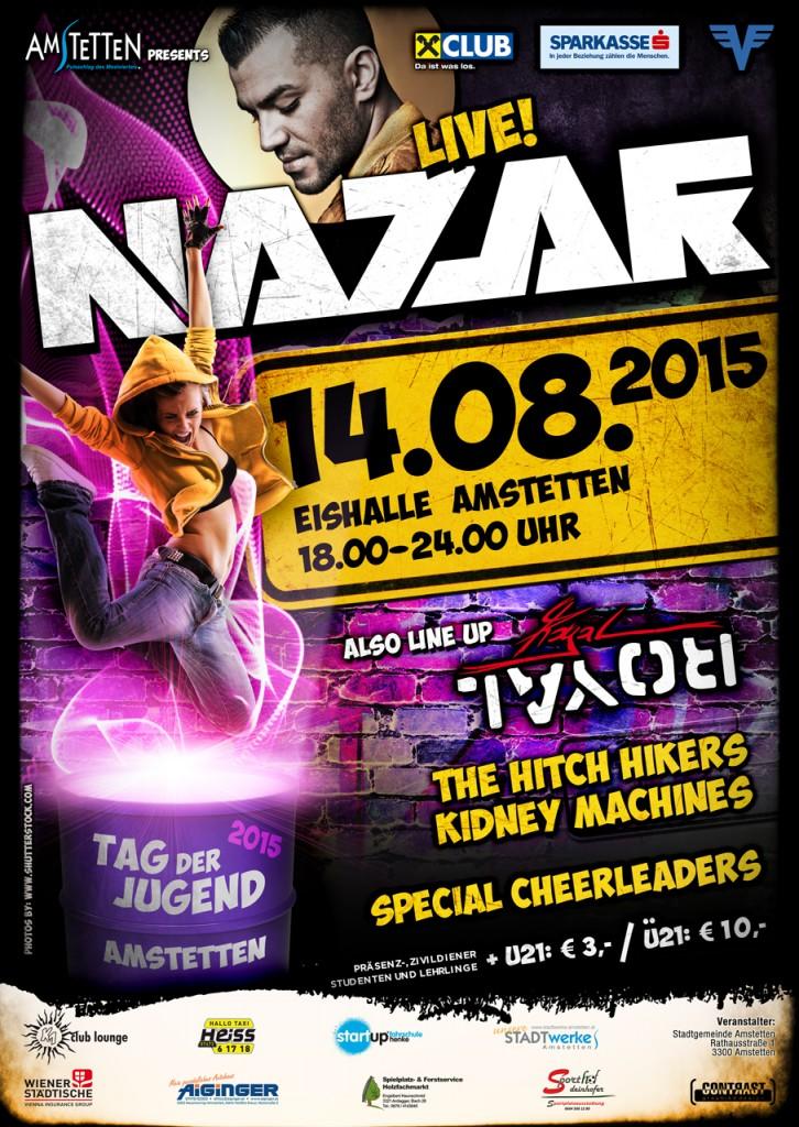 20150814 Plakat Tag der Jugend 2015 Abendveranstaltung 1